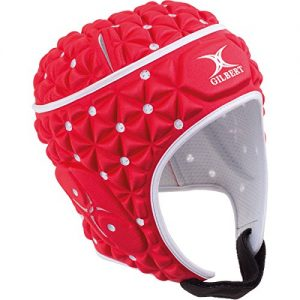 Gilbert-Ignite-Casque-de-Rugby-Rouge-taille-M-0-1