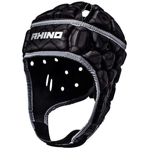 Rhino-Pro-Casque-de-Rugby-Mixte-Noir-m-0